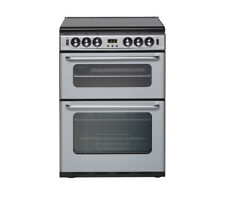 BRAND NEW 60cm NEW WORLD 600TSIDLM Gas Cooker Silver LID & TIMER Double Cavity