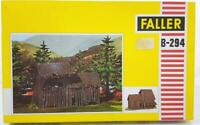 MINT VINTAGE FALLER B-294 HO GAUGE - OLD WOODEN BARN, UNUSED IN SEALED BAG