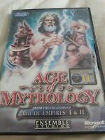 Age of Mythology (PC CD-ROM 2002) Complete with Manual