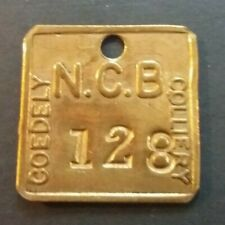 COEDELY COLLIERY N.C.B. - NATIONAL COAL BOARD / PIT COLLIERY CHECK TOKEN