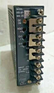NEMIC-LAMBDA HR-9F-15V - 2.6A POWER SUPPLY - Input 100-120VAC 50/60 Hz 1.1A