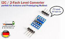 I2C ICC 5V-3.3V logic level shifter converter für Arduino Raspberry Pi Multiwii