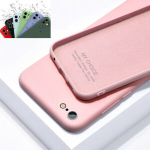 Shockproof Liquid Silicone Case Protective Cover For iPhone 11 Pro Xs Max XR 7 8