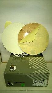 "40's DA STICKY DISCS INDASA RHYNOSTICK 6"" OR 150MM BOX OF 50 D.A ORBITAL SANDER"