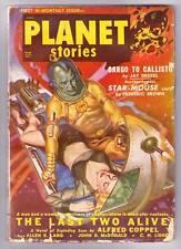 Pulp PLANET STORIES November 1950 - John D. MacDonald, Forrest Ackerman - Fine