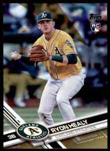 2017 Topps Gold Ryon Healy RC 0801/2017 Oakland Athletics #53