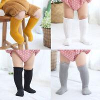 Cute Baby Toddler Knee High Socks Boys Girl Kids Children Cotton Warm Stocking
