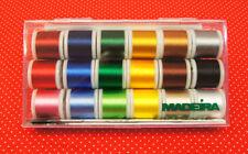 Madeira Stickgarn-Box mit 18 Farben á 200m 40er Rayon Maschinenstickgarn #8040