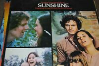 SUNSHINE     SOUNDTRACK    JOHN DENVER SONGS  LP   MCA RECORDS  MCF 2566  1973