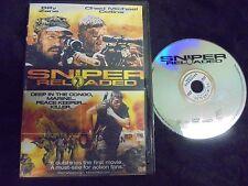 """USED DVD  """"Sniper Reloaded"""""""