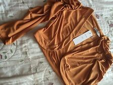 Mustard colour long sleeve shrug/bolero by KDK size 14