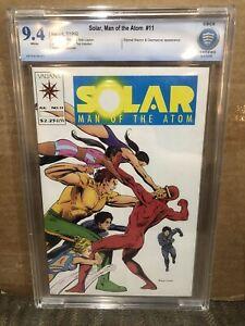 Solar Man Of The Atom 11 CBCS 9.4 1992 - Eternal Warrior Shooter Ditko - NOT CGC