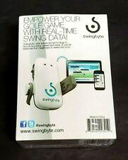 Swingbyte Golf Training Aid/APP Real-Time Swing Data IPHONE-ANDRIOID NIB Sealed!