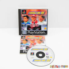 Formula 1 99 - with Original Case and Book - Sony Playstation 1 PS1 Game PAL K55