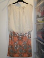 Ladies BNWOT Fenn Wright Manson Silk Sequin Dress Size 8 (AK)