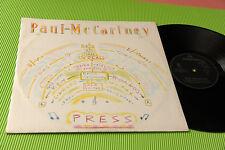 "PAUL MC CARTNEY 12"" PRESS 4 TRACKS ORIG ITALY 1986 EX !!!!!!!!!!"
