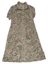 abito donna floreale polpaccio taglia l / xl extra large