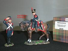 KING AND COUNTRY NA196 NAPOLEONIC WAR FRENCH ARTILLERY COMMANDER TOY SOLDIER SET