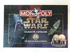 Monopoly Star Wars Parker 1997. Sammlerausgabe mit echten Münzen. WIE NEU