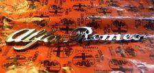 "Alfa Romeo Spider "" Alfa Romeo"" Rear Emblem 91-94"