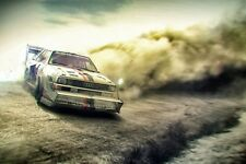 Audi Quattro Rally Car SILK POSTER 24x36