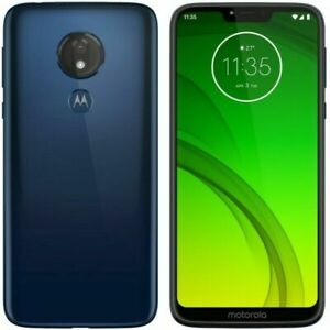 Motorola Moto G7 Power XT1955 32GB GSM Unlocked T-Mobile AT&T Smartphone Blue