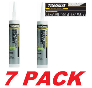 Franklin 61201 Beige Metal Roof Sealant Adhesive Tite Bond Weather Master 7-PK