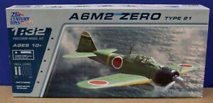 21st Century Toys 22101 A6M2 Zero Type 21 kit 1:32 Sealed Inside 2006