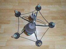 Dunkelbrauner Kronleuchter 54 cm Durchmesser Hängelampe Deckenlampe Pendel