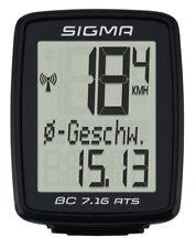 Fahrrad Computer Sigma Sport BC 7.16/ATS kabellos schwarz