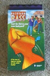 Backyard Bass Fishing Game in Original Box - EXC Condition