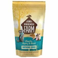 More details for bathing sand tiny friends farm hamster chinchilla degu cleaning dust bath 1kg