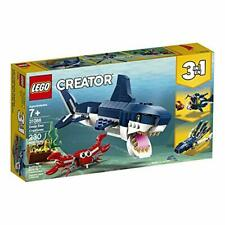 Lego 31088 LEGO Creator 3in1 Deep Sea Creatures 31088 Building Kit (230 Pieces)