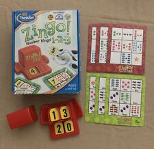 Zingo! 1-2-3 Number Bingo Thinkfun Board Game Age 4+ Education/Math
