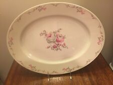 "Castleton USA Belrose Oval Platter Large Size 15 1/2"""