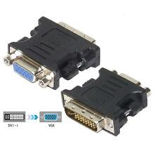 Convertidor de Señal Adaptador DVI-I Macho a VGA Hembra Dual-Link 24+5P cobre