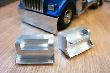 Custom Pair Aluminum Side Step Tamiya RC 1/14 King Grand Knight Hauler Cascadia