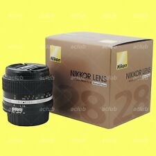 Genuine Nikon AI-s 28mm f/2.8 Lens AiS Nikkor 28 mm f2.8 Manual Focus MF Japan