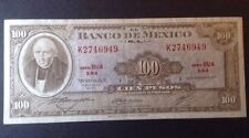 Mexico Banknote. 100 Pesos. Dated 1972