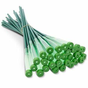 30x Green Floral Water Tubes Picks Vials Flower Arrangements Florist Supplies