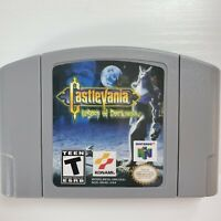 Castlevania Legacy Of Darkness N64 Game Cartridge US Version High Quality