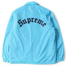 NWOT Supreme Old English Coaches Jacket Blue Size XL