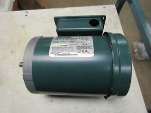 RELIANCE ELECTRIC 1/3 HP, SINGLE PHASE MOTOR C56H3002H (NEW NO BOX)