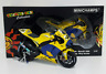 "MINICHAMPS VALENTINO ROSSI 1/12 YAMAHA M1 MOTOGP 2006 ""DIRTY VERSION"" 1999 PCS"