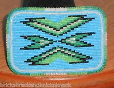 "NATIVE AMERICAN ""BEADED BELT BUCKLE"" YUROK, VINTAGE PIECE, BEAUTIFUL CONDITION!"