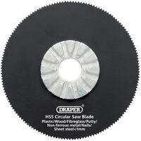 Genuine DRAPER HSS Circular Saw Blade 63mm Dia. x 18tpi 26073
