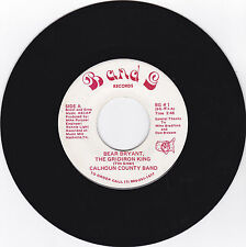 CALHOUN COUNTY BAND-B AND G 1 COUNTRY ALABAMA FOOTBALL 45RPM BEAR BRYANT  M-