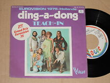 """TEACH-IN -Ding-A-Dong- 7"""" 45 Eurovision 1975"""