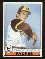 Randy Jones #194 signed autograph auto 1979 Topps Baseball Trading Card