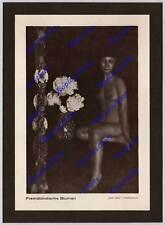orig. Fotodruck Heinz von Perckhammer Frau Akt nackt Exotik Kunst Art Deco 1929